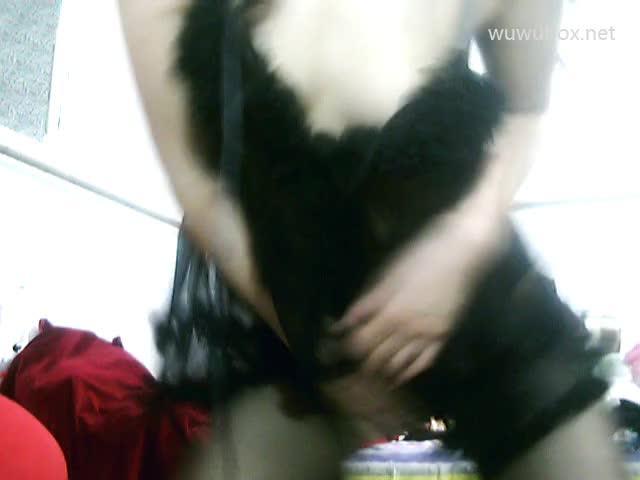 小雅后续5四面镂空黑丝T裤ZW
